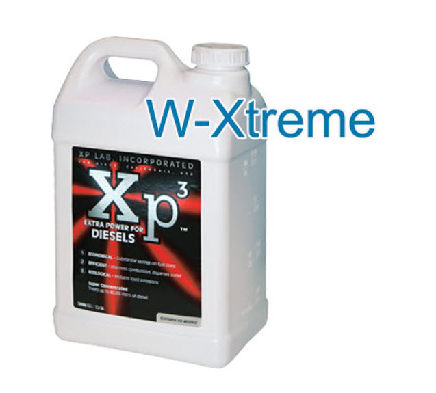 1 gallon of Xp3 diesel winter xtreme