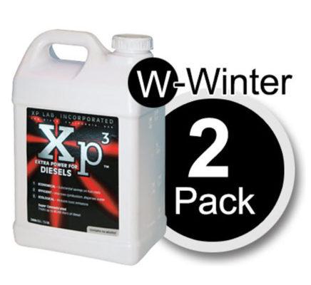 2 pack of 2.5 gallon bottles Xp3 diesel winter
