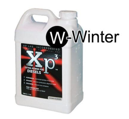 2.5 gallon bottle of Xp3 diesel winter