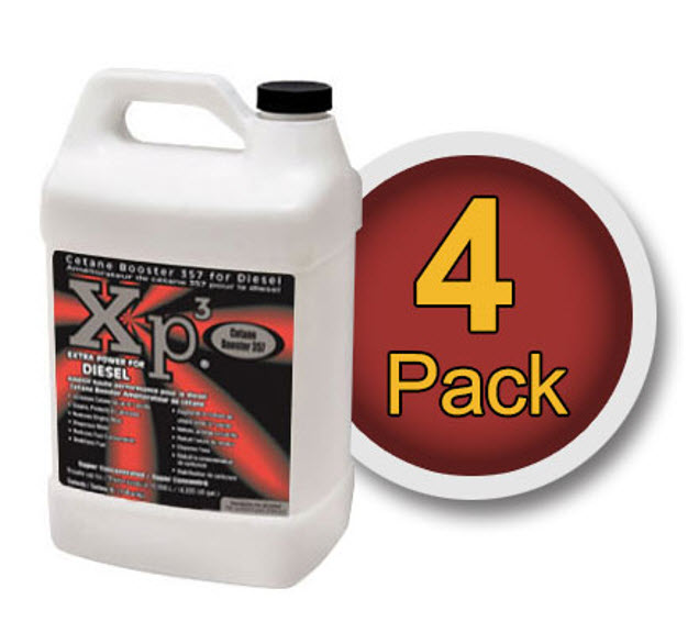 4 pack of 1 gallon bottles Xp3 diesel cetane booster