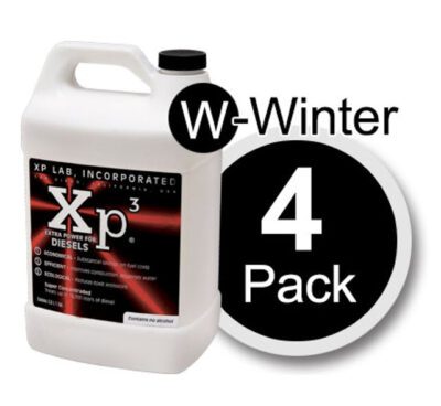 4 pack of 1 gallon bottles of Xp3 diesel winter
