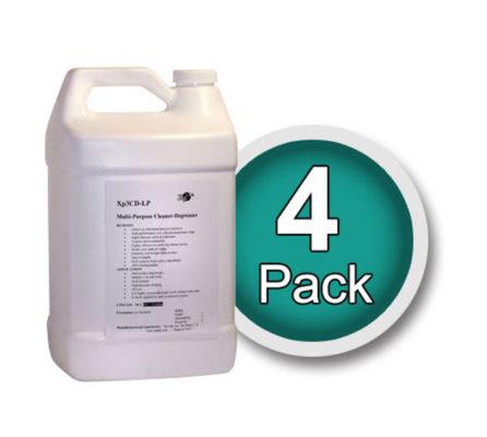 Xp3 cleaner degreaser 4 pack of gallon bottles